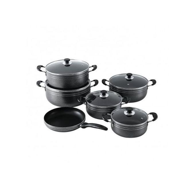 Generic 11PCS Aluminium Nonstick Cooking Pots & Fry Pan Heavy