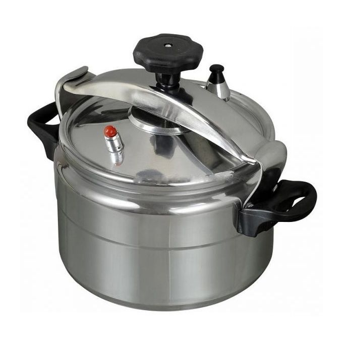 Generic Pressure Cooker - Explosion proof - 15 Ltrs - Silver