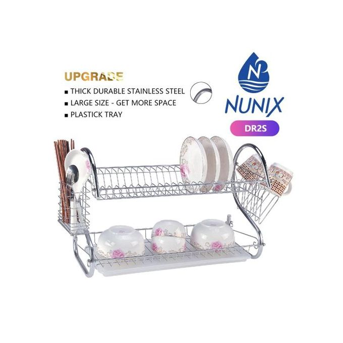 Nunix Stainless Steel Dish Rack