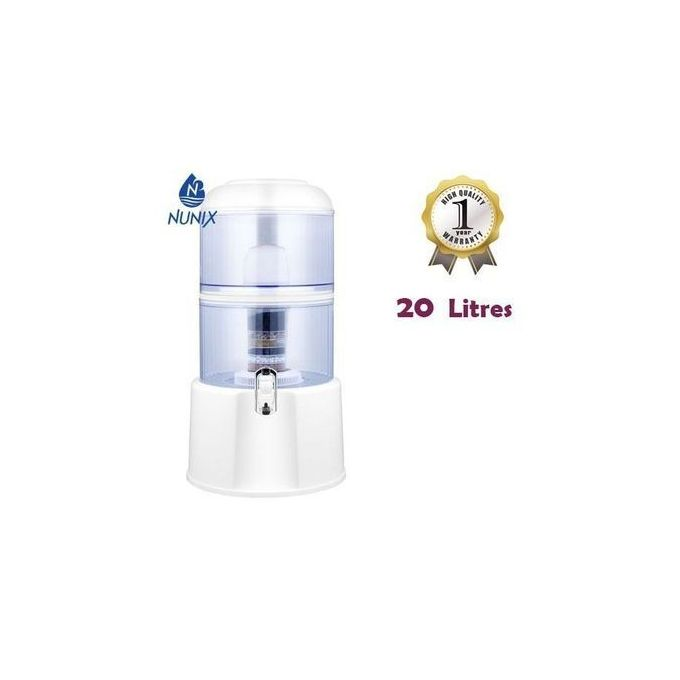 Nunix Water Purifier With Dispensing Tap/7 Filter Stages - 20 Ltrs