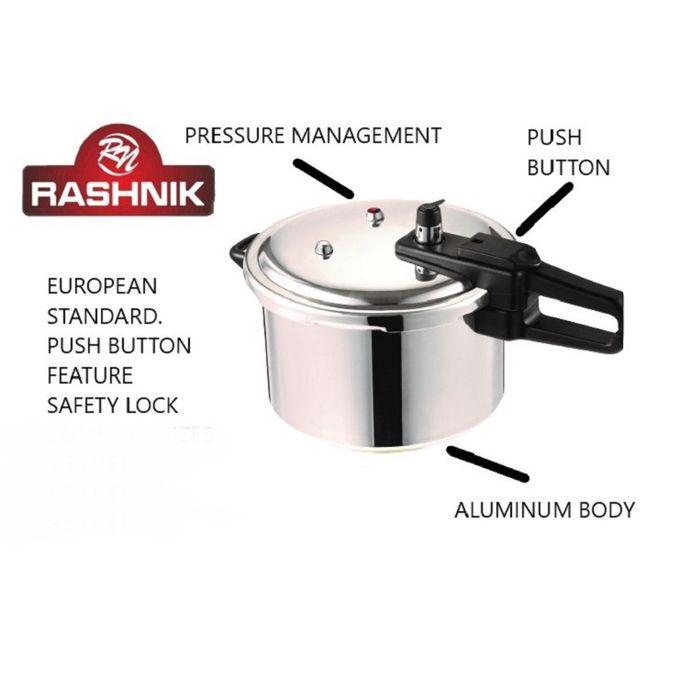 Rashnik Aluminium Pressure Cooker - 5.5 LITRES