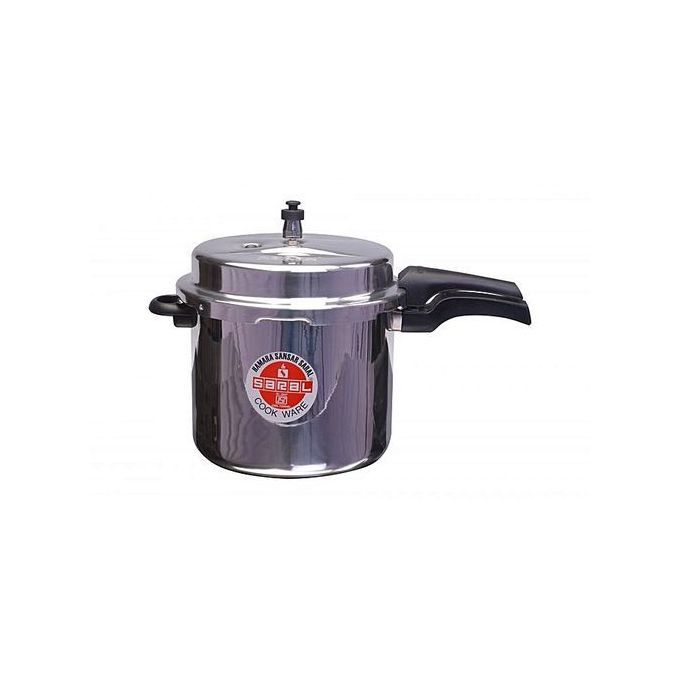 Saral Aluminium Pressure Cooker- Explosion Proof With SAFETY Valve