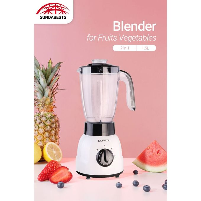 Sathiya NK-B129 Blender 2 In 1 With Grinder Machine 1.5L