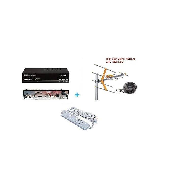 Sonar Digital Decoder + FREE Antenna & Extension