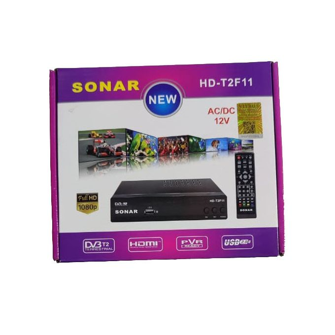 Sonar Free To Air HD Decoder - No Monthly Charges