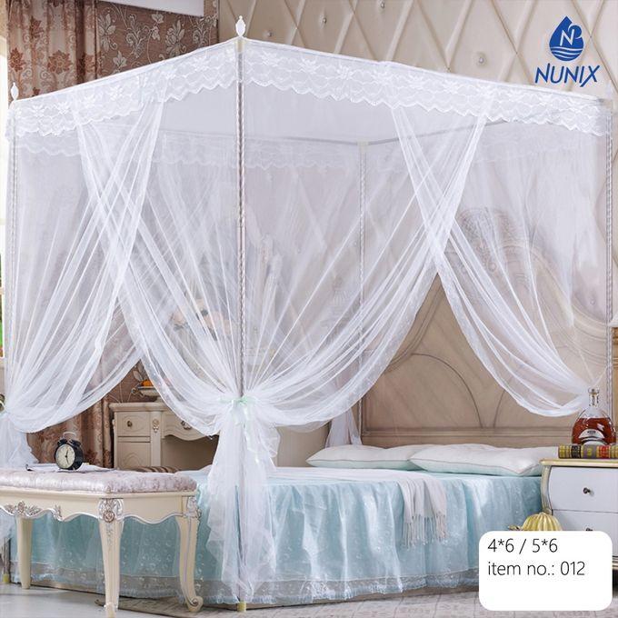 Nunix Mosquito Net With Metallic Stand 5*6