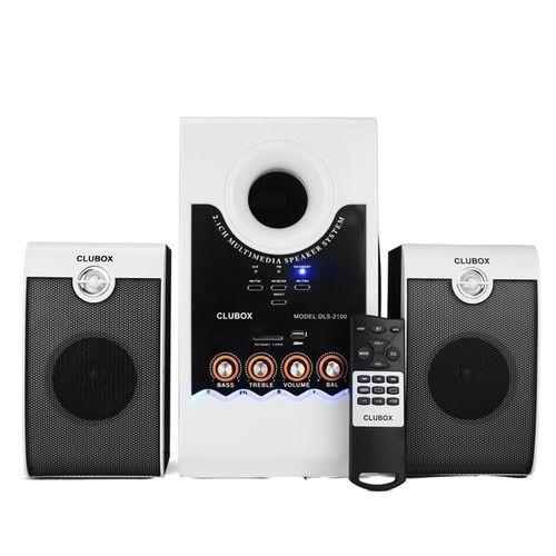 CLUBOX 2100 Bluetooth Subwoofer Speaker P.M.P.O 5000W