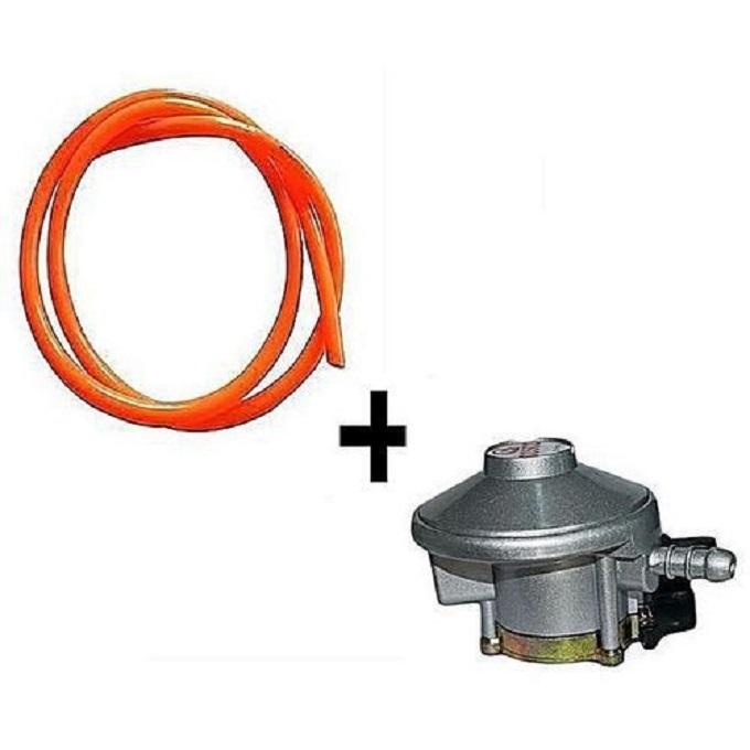 Gas Regulator 13KG + FREE 2 Meters Delivery Pipe