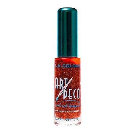 L.A. Colors Nail Art Deco - Copper Glitter