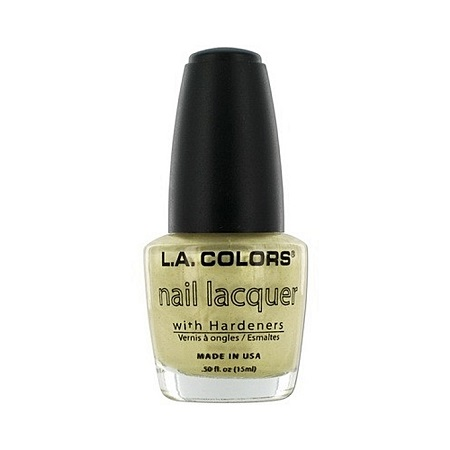 L.A. Colors Nail Lacquer - Gold Dust