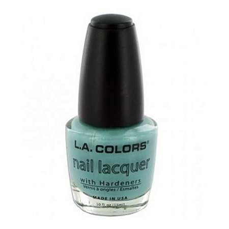 L.A. Colors Nail Lacquer - Blue Treasure