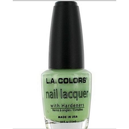 L.A. Colors Nail Lacquer - Green Satin