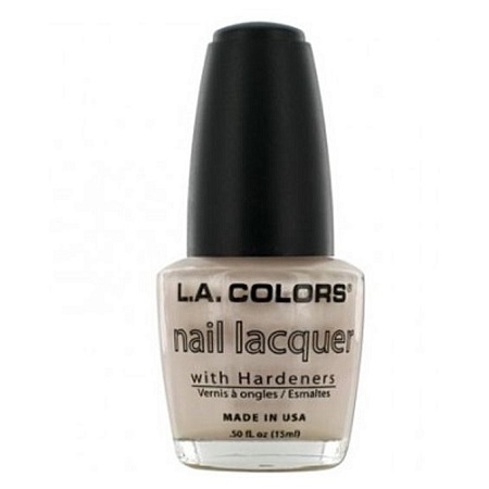 L.A. Colors Nail Lacquer - Lilac Frost