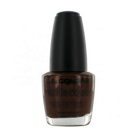 L.A. Colors Nail Lacquer - Chocolate Shimmer