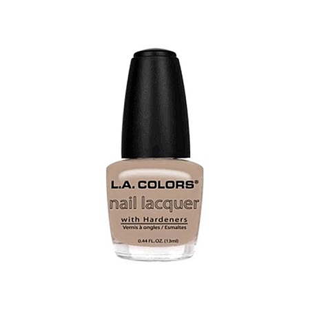 L.A. Colors Nail Lacquer - Sheer Beige