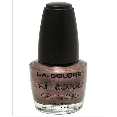 L.A. Colors Nail Lacquer - Sugar Plum