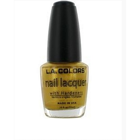 L.A. Colors Nail Lacquer - Gold Digger
