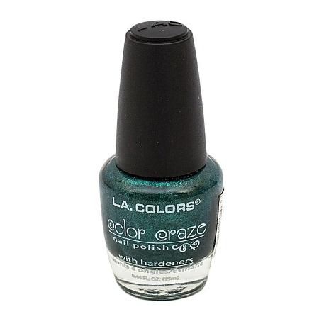 L.A. Colors Color Craze Nail Polish-Voodoo