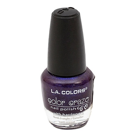 L.A. Colors Color Craze Nail Polish - Morning Glory