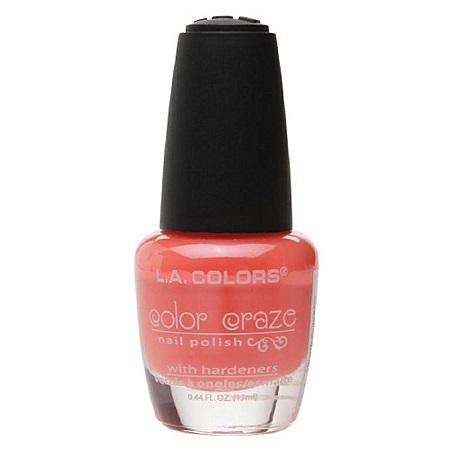 L.A. Colors Color Craze Nail Polish - Hottie