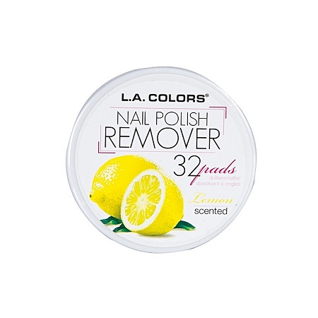 L.A. Colors  Nail Polish Remover - Lemon Scent