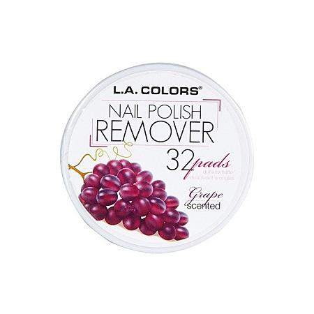 L.A. Colors Nail Polish Remover - Grape Scent