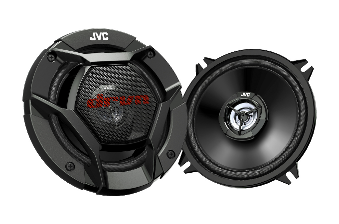 JVC CSDR520 520W 2-Way Factory Upgrade Coaxial Car Stereo Speakers.
