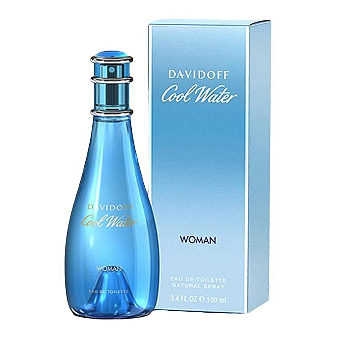 DAVIDOFF Cool Water For Women EDT - 100 ml.