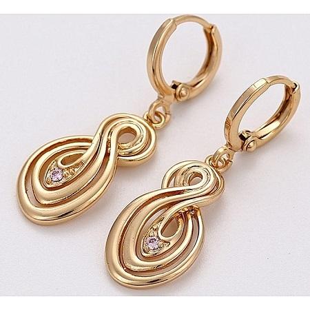 CarJay Jewels Gold Coated Earring Loops
