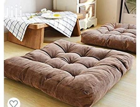 Generic Brown Square Floor Pillow