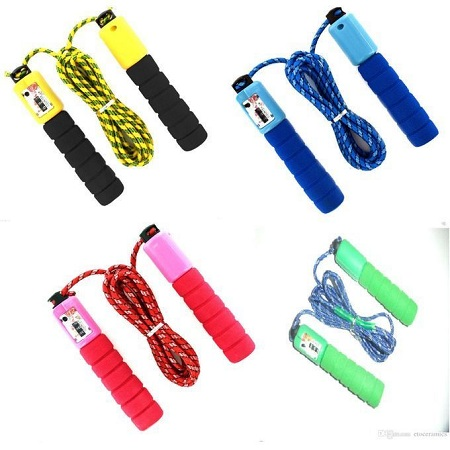 Generic Kids Fitness Exercise Skipping Rope With Counter Jump