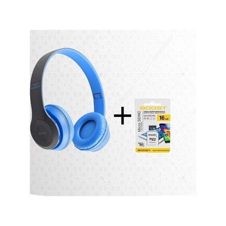 P47 Bluetooth Wireless Headphone+free 16gb Memory Card