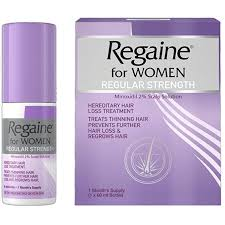 REGAINE FOR WOMEN REGULAR STRENGTH 2% (MINOXIDIL) 60ML