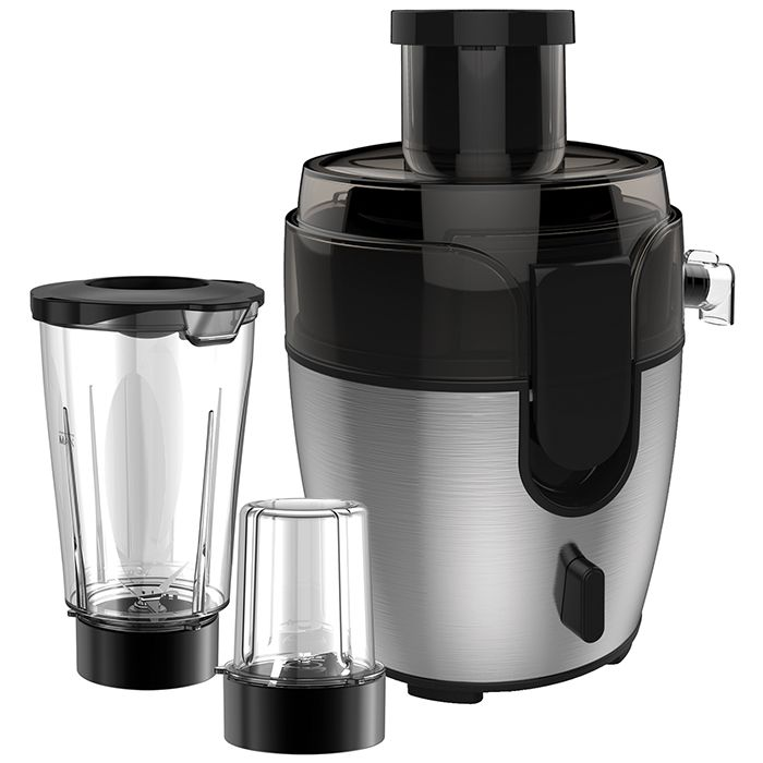 3-IN-1 JUICER BLENDER GRINDER, BLACK