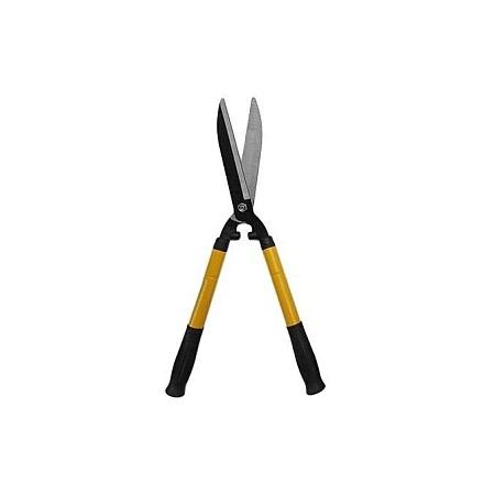 Adjustable handle hedge/fence pruning shears