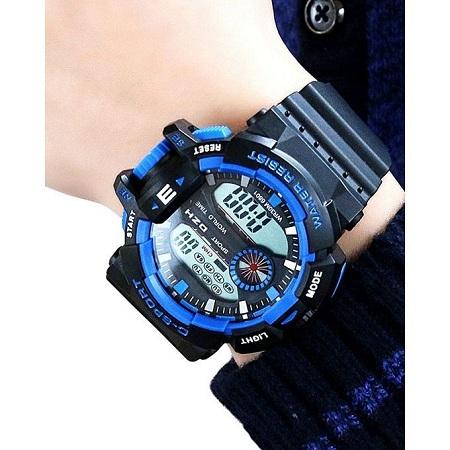 Fashion Multi-Function Waterproof Sport Male Watch