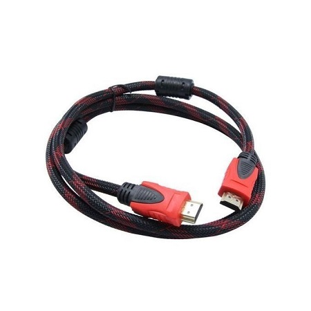 1.5m HDMI Cable With Ethernet (Black And Red)