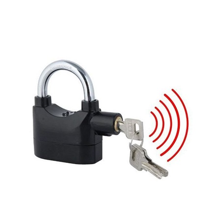 Kinbar Padlock Alarm High Quality Alarm Lock Siren Padlock