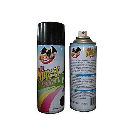 Power Eagle Black Matt Spray Paint-450 Ml