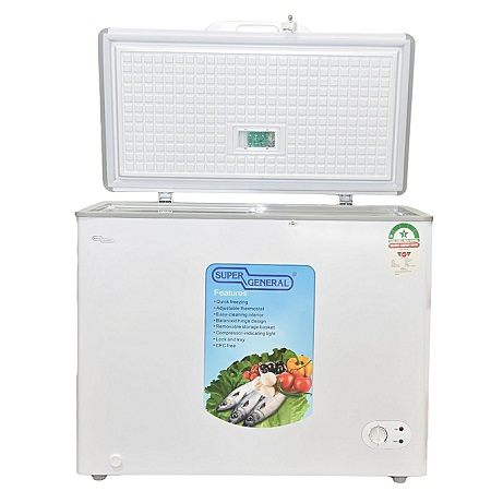 Super General SGF-210H - Chest Freezer - 200 Litres - 7.1 Cu.Ft - White