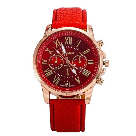 Generic Leather Ladies Wrist Watch