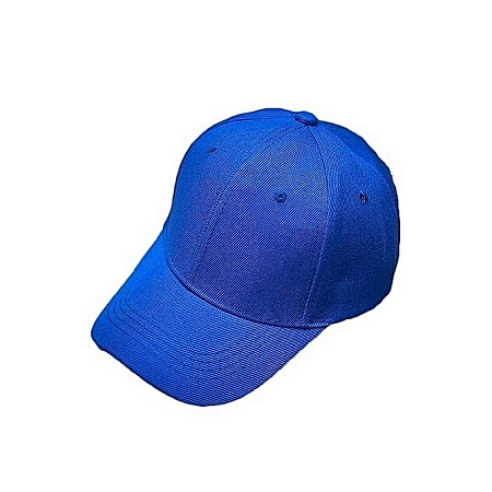 Generic Blue Plain Baseball Golf Cap
