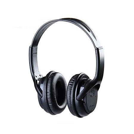 Generic Wireless Stereo Headphones - Black