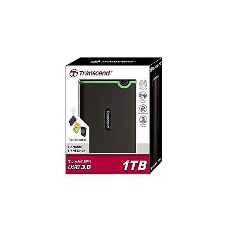TRANSCEND TRANSCEND External Memory hard disk 1TB - Black
