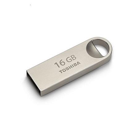 Toshiba 16GB USB Flash Drive U401 - Metallic Silver