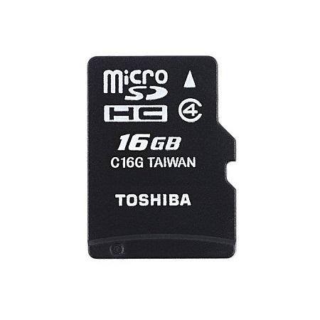 Toshiba Memory Card - 16GB - Black