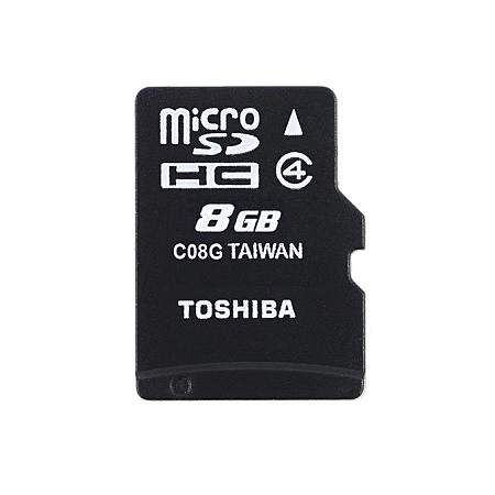 Toshiba Toshiba Memory Card - 8GB - Black