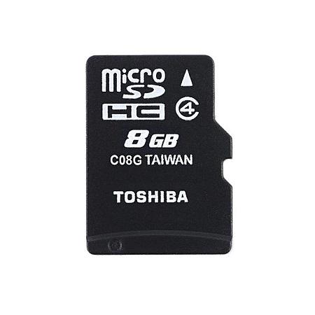 Toshiba Toshiba Memory Card - 8GB - Black