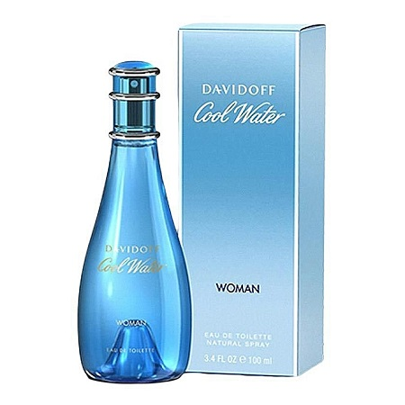 Cool Water For Women EDT - 100 ml.