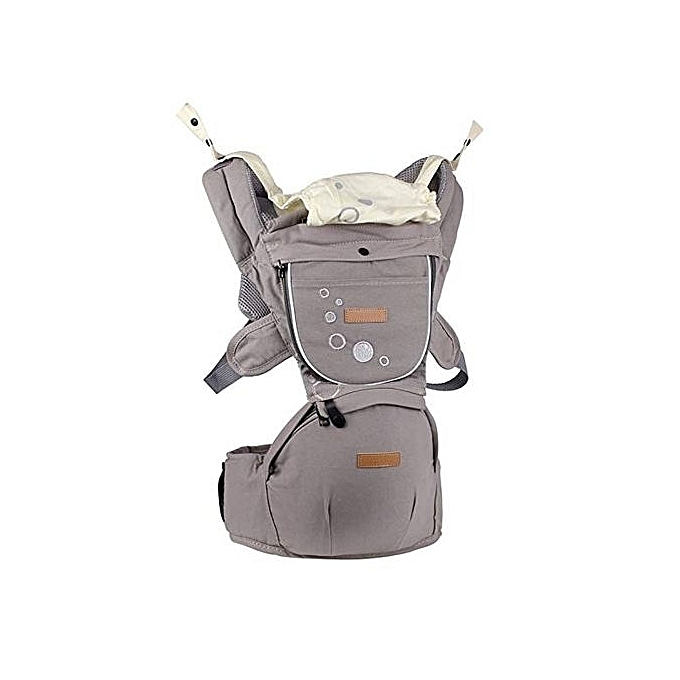 Generic Hip Seat Baby Carrier - Grey